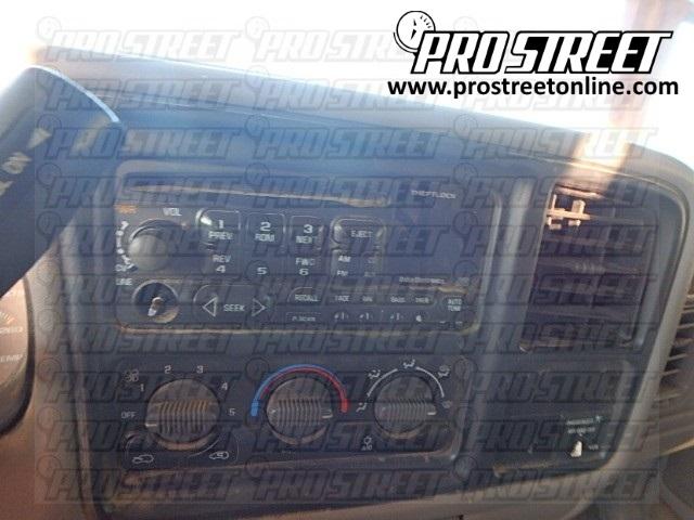 1999 Chevy Silverado Wiring Diagram