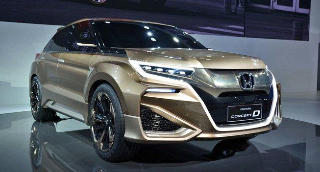 Honda UR-V will be turbo VTEC powered - My Pro Street