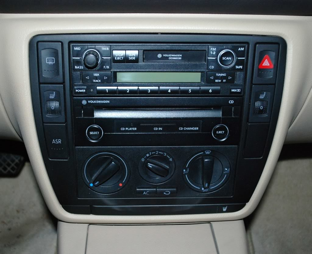 01 Volkswagen Passat Radio Wire Diagram Manual Of Wiring Vw Pat Sunroof Stereo Cd Disc Changer 43