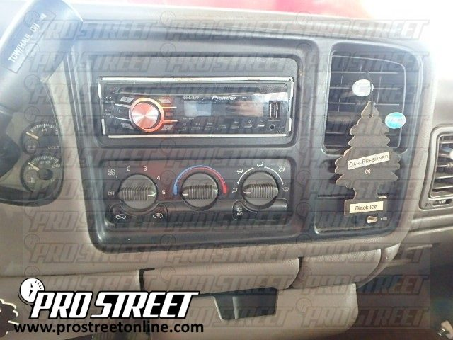 How To Chevy Tahoe Stereo Wiring Diagram - My Pro Street 2001 chevy tahoe factory amp location My Pro Street - Pro Street Online