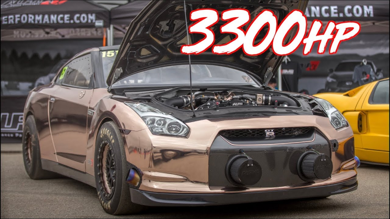 alpha racing 3000hp gtr is insane