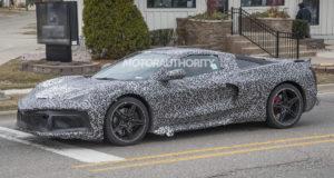 Corvette C8 Spotted