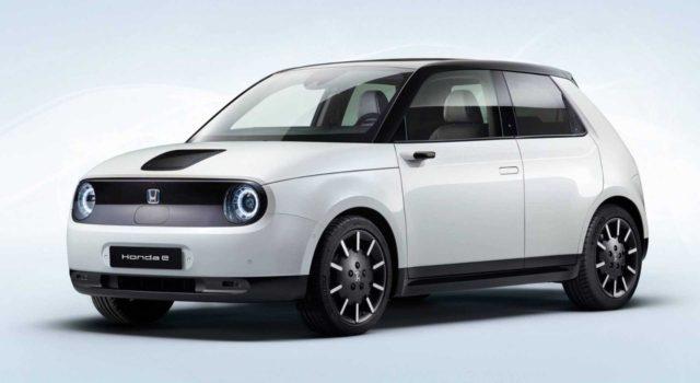 2020 Honda E front