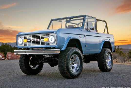Ford Bronco stereo wiring
